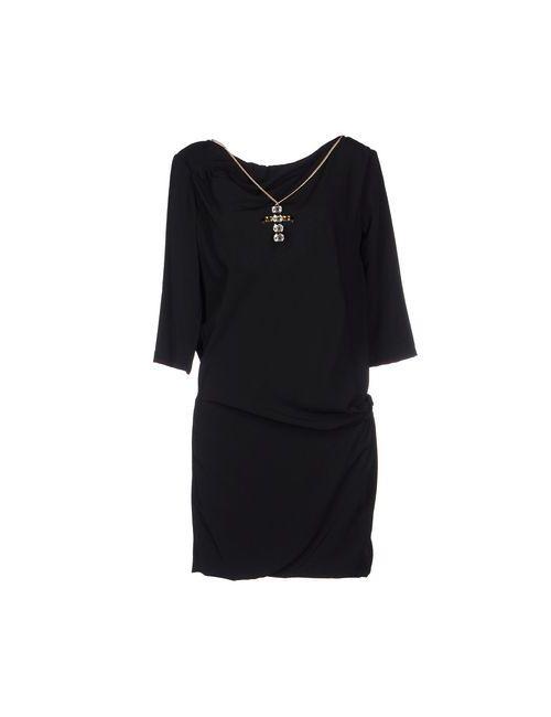 Relish   Женское Чёрное Короткое Платье