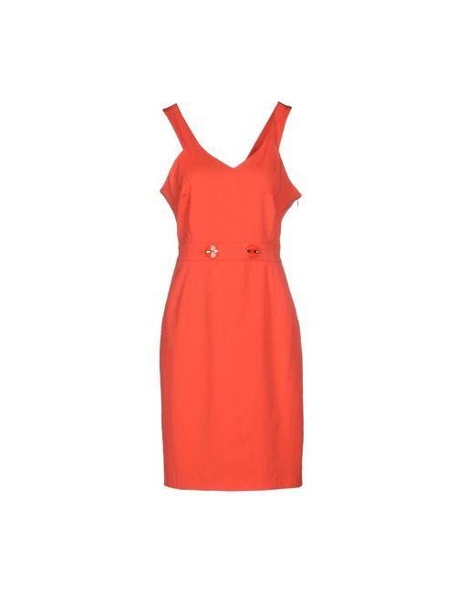 Mariella Rosati | Женское Коралловое Короткое Платье