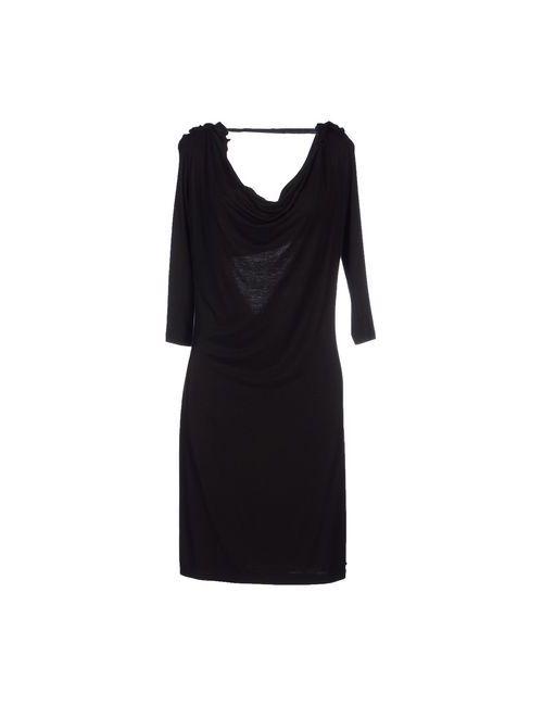 Guess | Женское Чёрное Короткое Платье