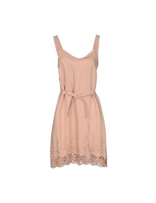 Blugirl Folies | Женское Песочное Короткое Платье