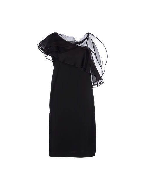 Space Style Concept | Женское Чёрное Короткое Платье