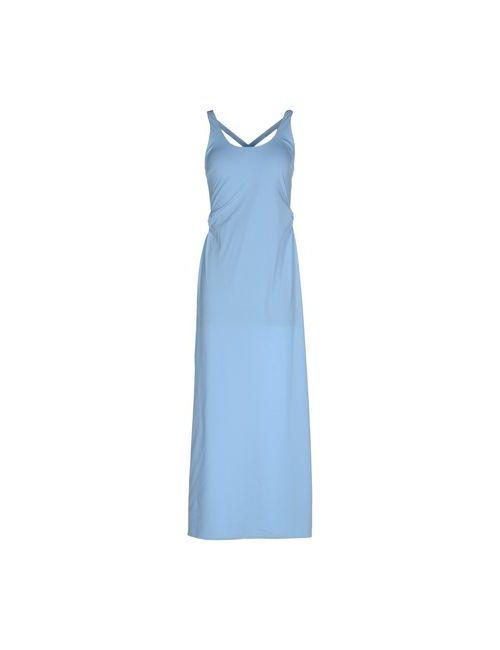 Fisico-Cristina Ferrari | Женское Голубое Длинное Платье