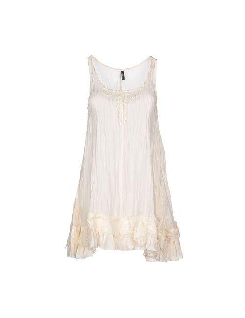 High | Женское Бежевое Короткое Платье