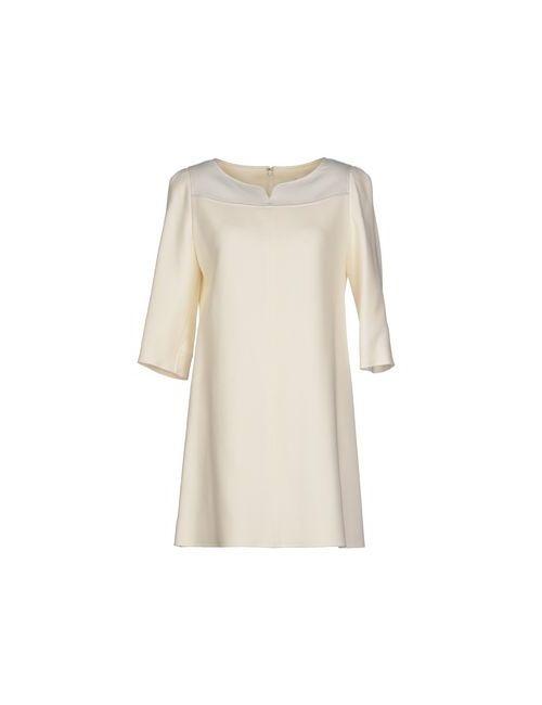 Courreges | Женское Белое Короткое Платье
