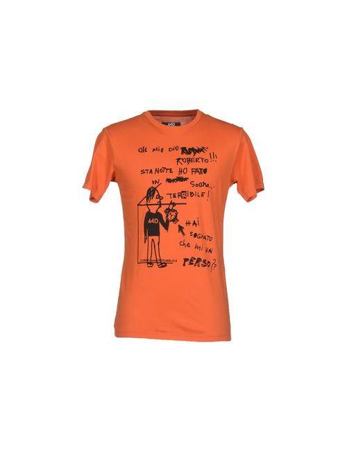 44D Corso Della Repubblica | Мужская Оранжевая Футболка