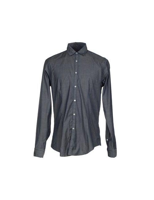Brian Dales | Мужская Синяя Джинсовая Рубашка