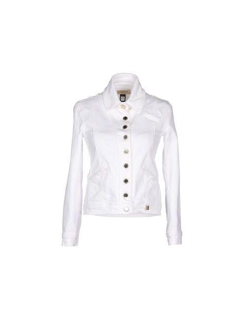 Roccobarocco | Женская Белая Джинсовая Верхняя Одежда