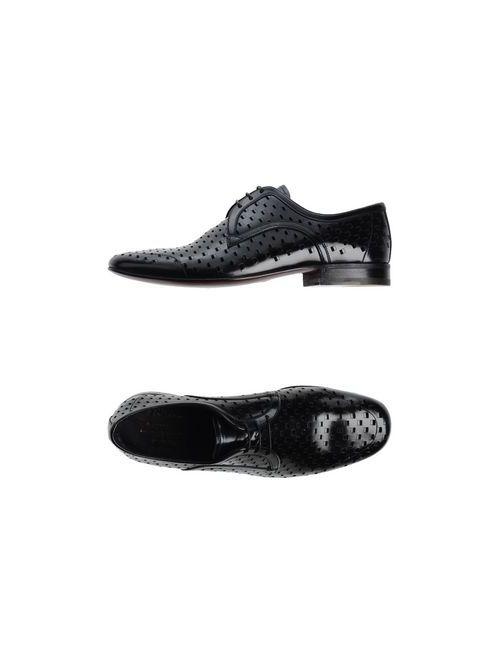 Barracuda | Мужская Чёрная Обувь На Шнурках