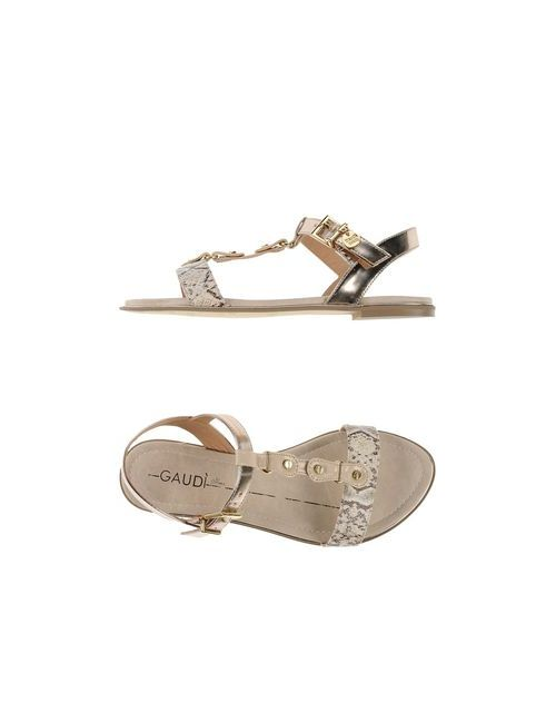 Gaudi' Shoes   Женские Бежевые Сандалии