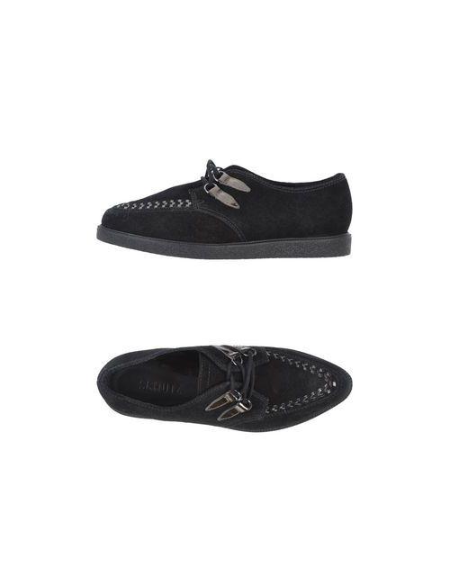SCHUTZ | Женская Чёрный Обувь На Шнурках