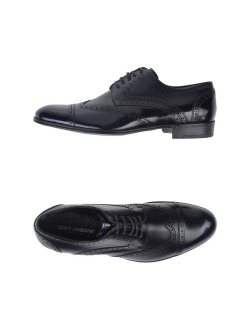 Dolce & Gabbana | Мужская Обувь На Шнурках