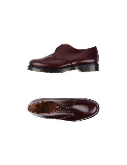Solovair 1881 | Мужская Коричневая Обувь На Шнурках