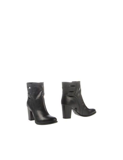 Fabrica Morichetti | Женские Чёрные Полусапоги И Высокие Ботинки