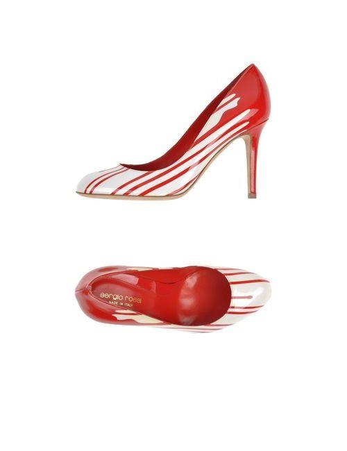 Sergio Rossi   Женские Красные Туфли