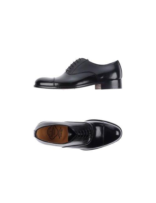 Dino Draghi | Мужская Чёрная Обувь На Шнурках