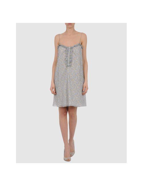 Masscob | Женское Лазурное Короткое Платье