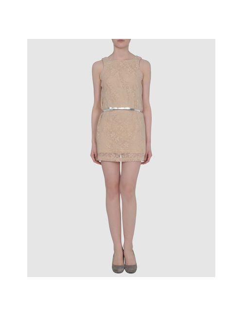 Carling   Женское Песочное Короткое Платье