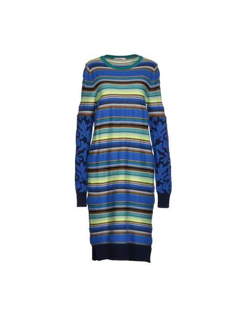 Matthew Williamson | Женское Синее Платье До Колена
