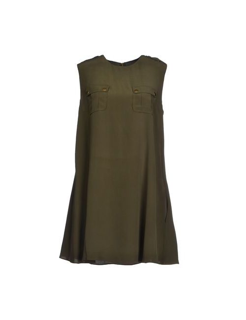 Rachel Zoe | Женское Зелёное Короткое Платье