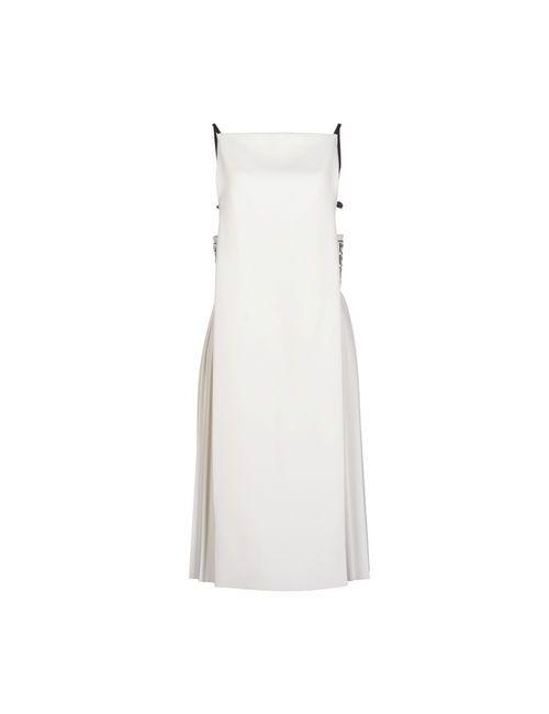 Alexander Wang | Женское Белое Платье До Колена
