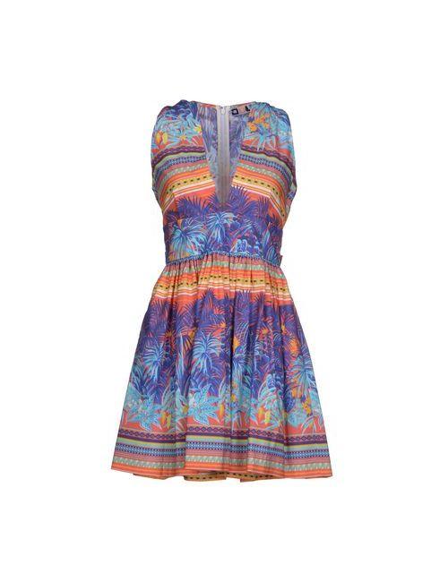 MSGM | Женское Коралловое Короткое Платье