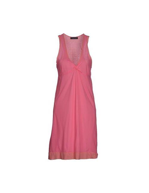 Pdr Phisique Du Role | Женское Розовое Платье До Колена