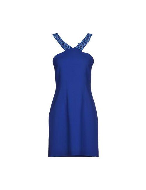 Matthew Williamson | Женское Синее Короткое Платье