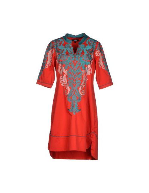 Niza   Женское Красное Короткое Платье