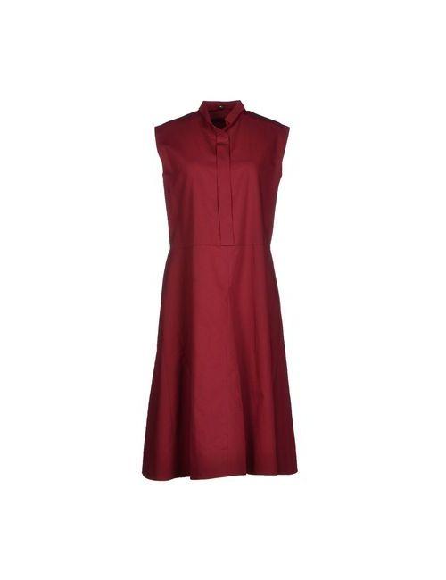 N_8 | Женское Фиолетовое Платье До Колена