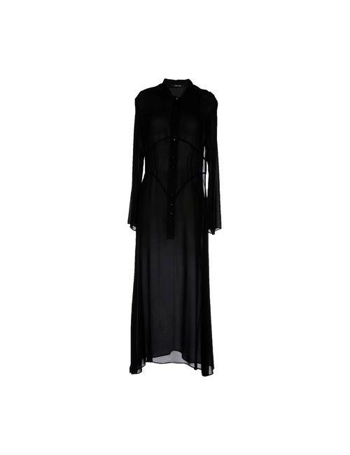 LUDOVICA AMATI | Женское Чёрное Длинное Платье
