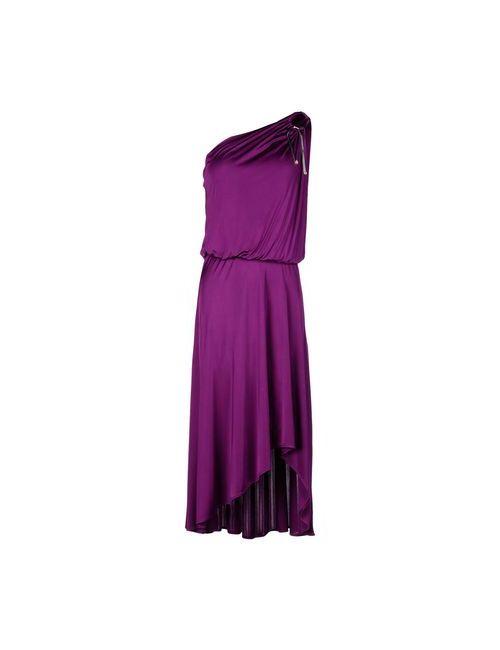 Space Style Concept | Женское Розовато-Лиловое Платье Длиной 3/4