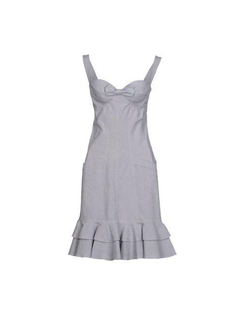 Gai Mattiolo Jeans | Женское Синее Короткое Платье