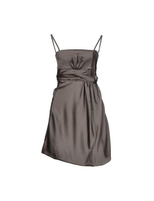 Liu •Jo | Женское Серое Короткое Платье