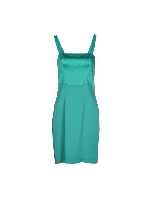 D.exterior | Женское Зелёное Платье До Колена