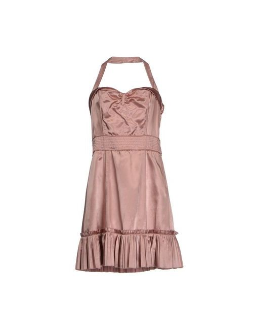 Marc Jacobs | Женское Розовое Короткое Платье