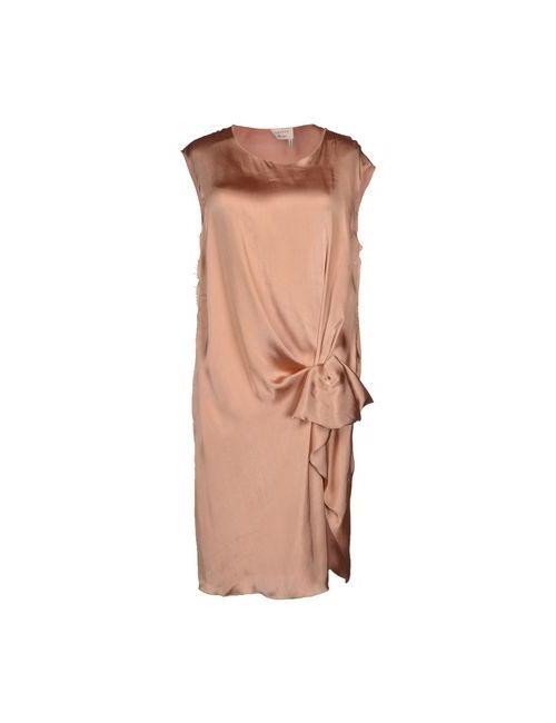 Lanvin   Женское Телесное Платье До Колена