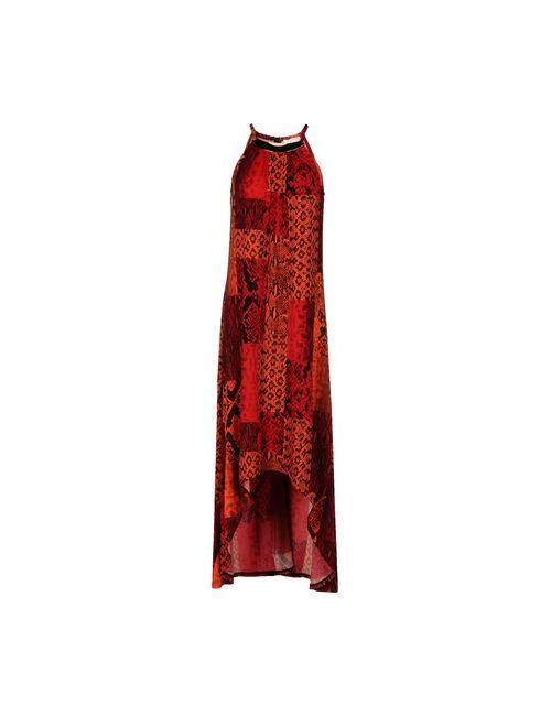 Michael Michael Kors   Женское Красное Платье До Колена