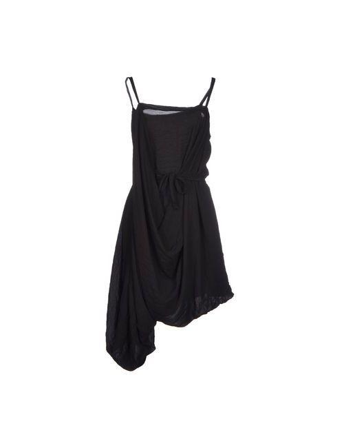 Maria Calderara | Женское Чёрное Короткое Платье