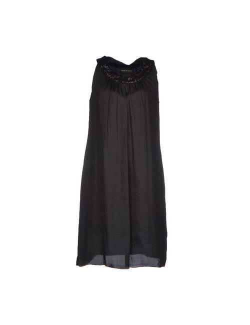 Giorgio Sala | Женское Чёрное Короткое Платье