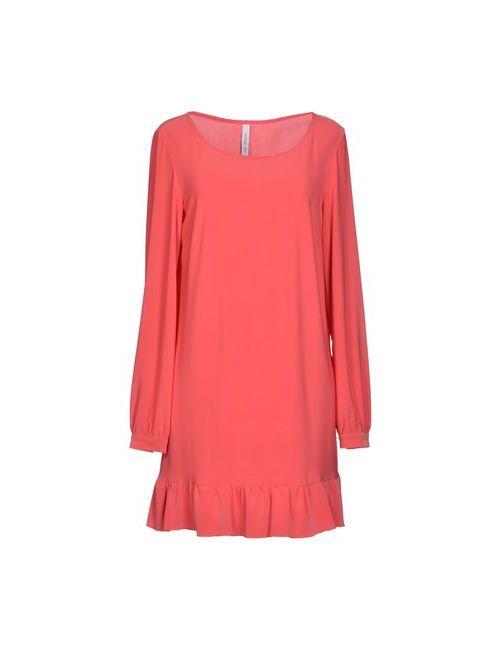 HANG ON | Женское Розовое Короткое Платье