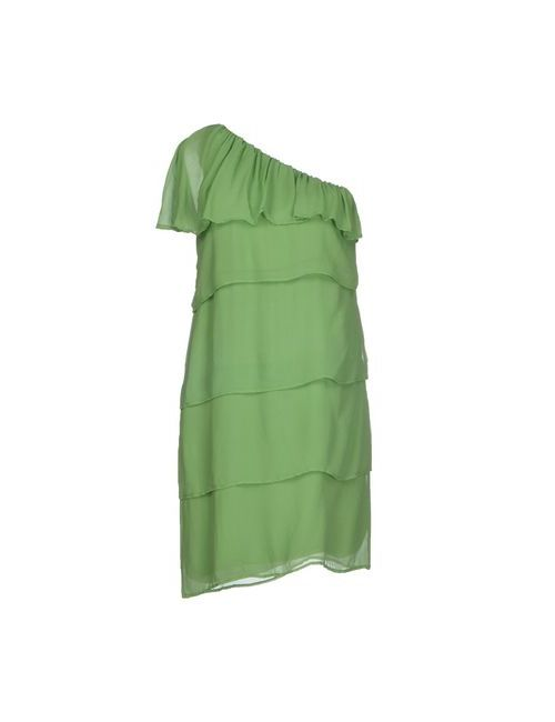 Ambra Angiolini X Aniye By | Женское Зелёное Короткое Платье