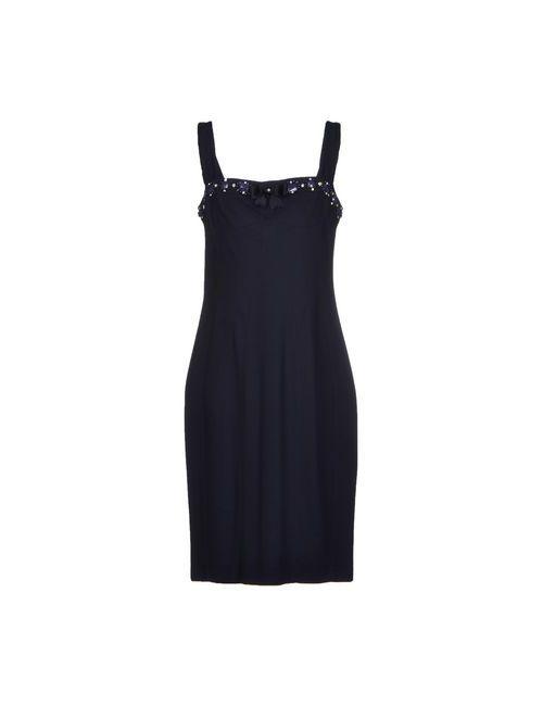 Vdp Collection | Женское Синее Платье До Колена