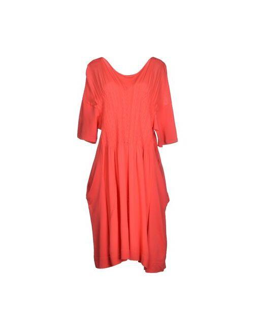 High | Женское Коралловое Короткое Платье