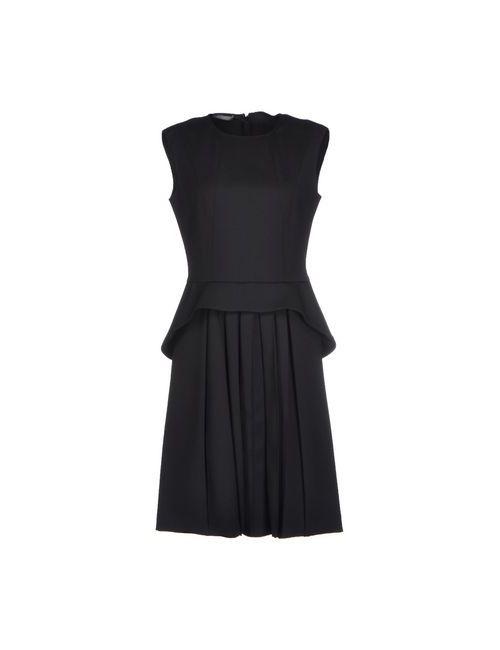 Alberta Ferretti | Женское Чёрное Короткое Платье