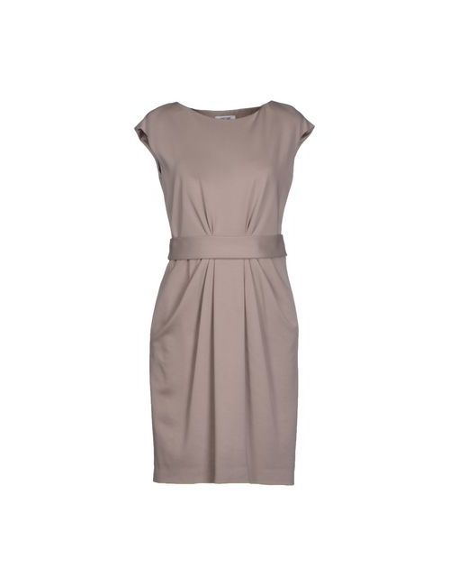 Moschino | Женское Серое Короткое Платье