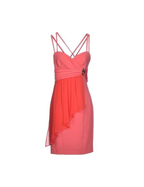 Miss Max | Женское Розовое Платье До Колена