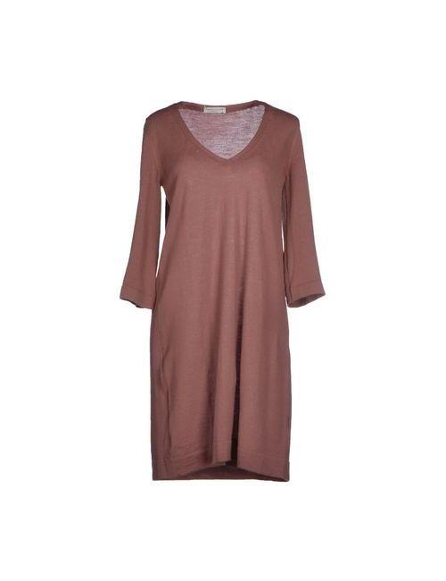 Roberto Collina | Женское Розовое Короткое Платье