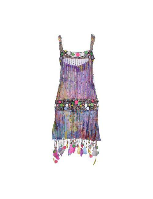 Jenny Packham | Женское Фиолетовое Короткое Платье