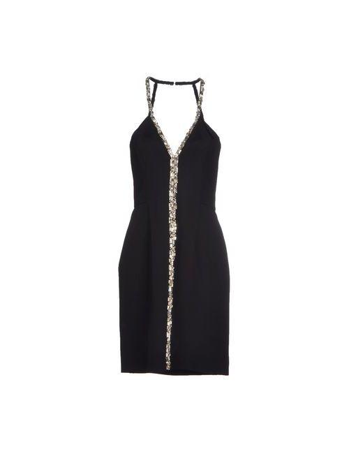 Azzaro | Женское Чёрное Короткое Платье