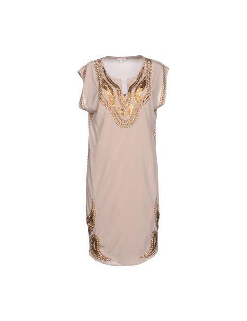 DEA KUDIBAL | Женское Серое Платье До Колена